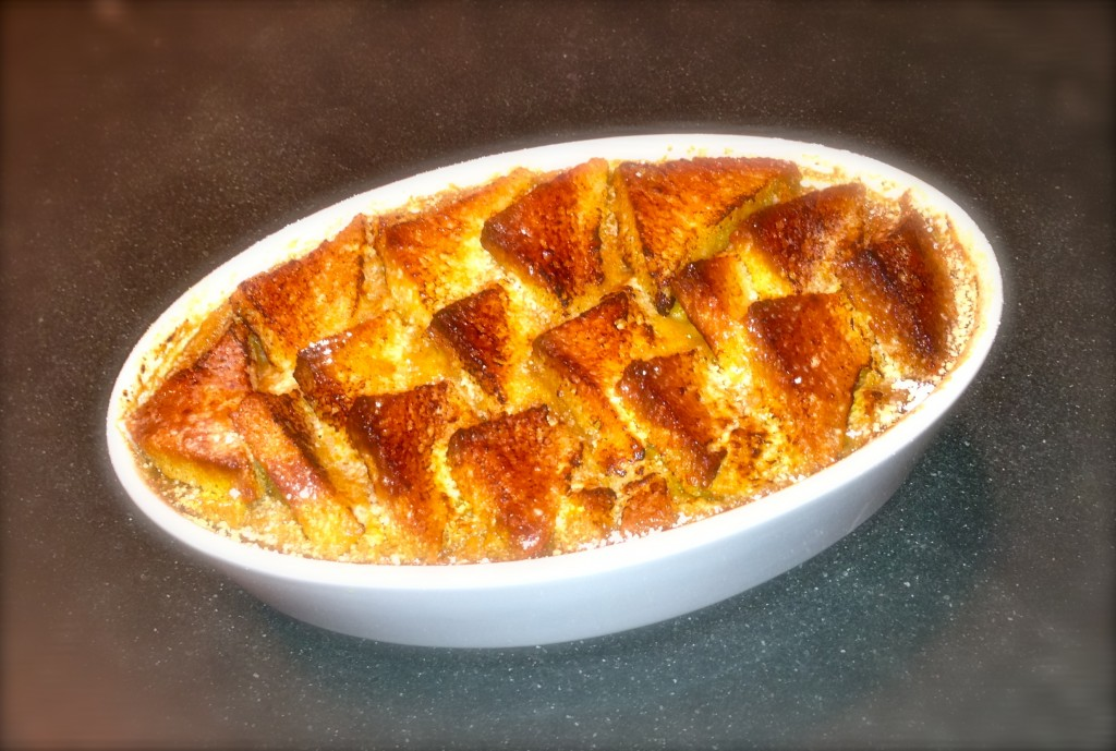 Pumpkin Bread and Butter Pudding | Darren McGrady : The Royal Chef